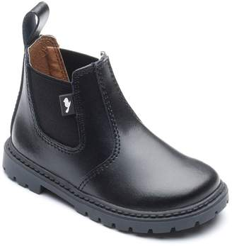 Chipmunks - Boys' Black 'Ranch' Boot In Leather
