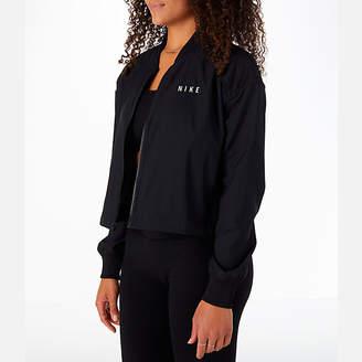 Nike Women's Sportswear Mesh Bomber Jacket
