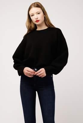 Azalea Mock Neck Knit Solid Sweater