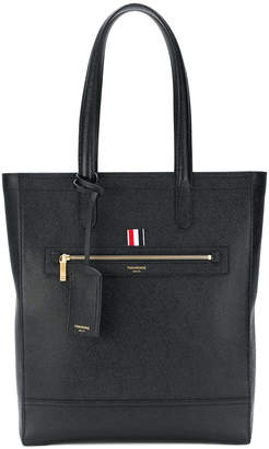 Thom Browne structured tote bag