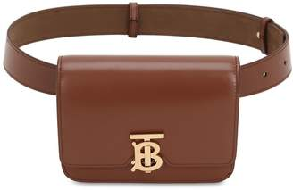 Burberry Tb Smooth Leather Belt Bag