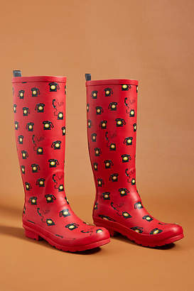 Anthropologie 52 Conversations by Colloquial Rain Boots