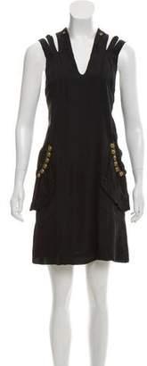 Mayle Sleeveless Silk Dress
