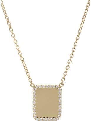 Finn Women's Diamond & Gold Looking Glass Pendant Necklace
