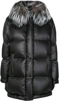 Prada collared padded cocoon coat