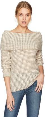 BB Dakota Women's Tegan Off The Shoulder Sweater