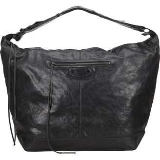 Balenciaga Weekender leather handbag