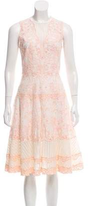 Jonathan Simkhai Embroidered Sleeveless Midi Dress w/ Tags