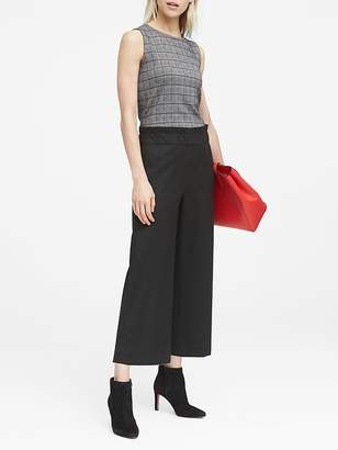 Banana Republic JAPAN ONLINE EXCLUSIVE Blake Wide Leg-Fit Cropped Flannel Pant