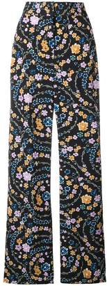 See by Chloe floral print palazzo trousers