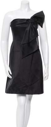Ralph Lauren Purple Label Strapless Silk Dress w/ Tags