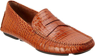 Donald J Pliner Men's Vinco5 Leather Driving Loafer