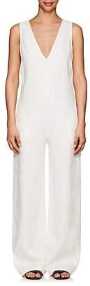 Nomia Women's Linen Sleeveless Jumpsuit