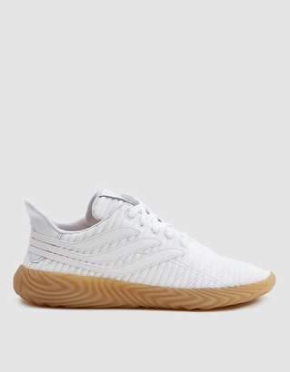 adidas Sobakov Sneaker in Cloud White/Gum