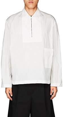 Jil Sander Men's Tech-Fabric Popover Jacket - White