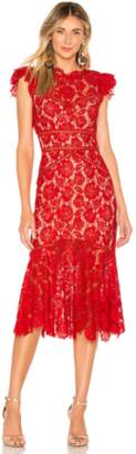 Saylor Maude Midi Dress