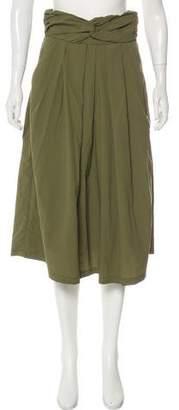 Rachel Comey Ruched Midi Skirt