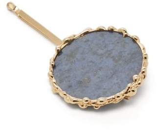 Rosantica By Michela Panero - Wallace Agate Hair Slide - Womens - Blue