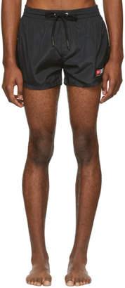 Diesel Black BMBX-Sandy Logo Swim Shorts