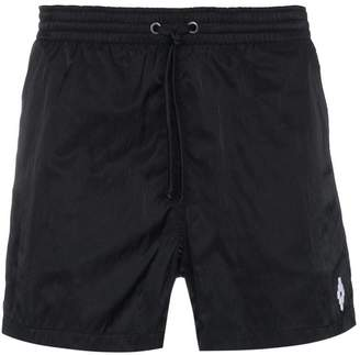 Marcelo Burlon County of Milan Black Chico Swim Shorts