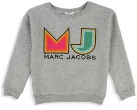 Little Marc Jacobs Little Girl's& Girl's Logo Sweater
