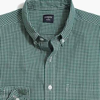 J.Crew Mercantile Flex washed shirt in mini-check
