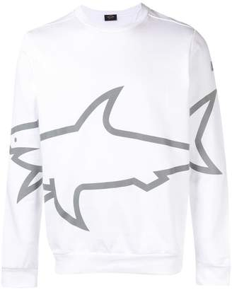 Paul & Shark shark logo sweatshirt