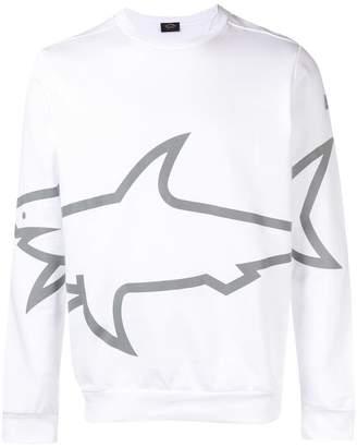 Paul & Shark shark logo sweatshirt