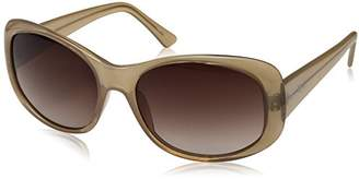 Cole Haan Women's Ch7006 Plastic Butterfly Cateye Sunglasses
