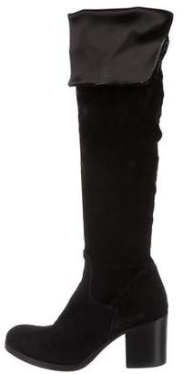 Barneys New York Barney's Suede Over-The-Knee Boots