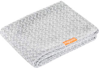 Aquis Long Hair Towel Lisse Luxe Chevron