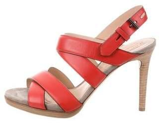 Reed Krakoff Platform Leather Sandals