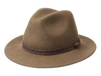 Scala Crushable Wool Felt Safari with Leather Band
