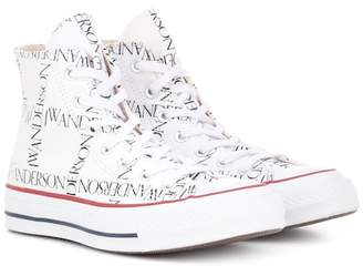 J.W.Anderson x Converse Chuck 70 logo-print sneakers