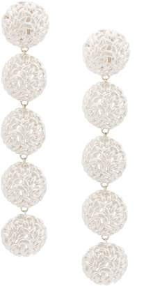 Bea Yuk Mui Bongiasca semisphere rice ball drop earrings