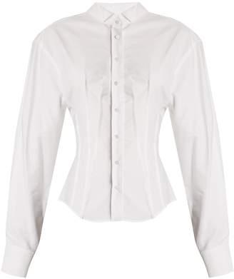 Jacquemus La Chemise Pinces pintuck-detail cotton shirt