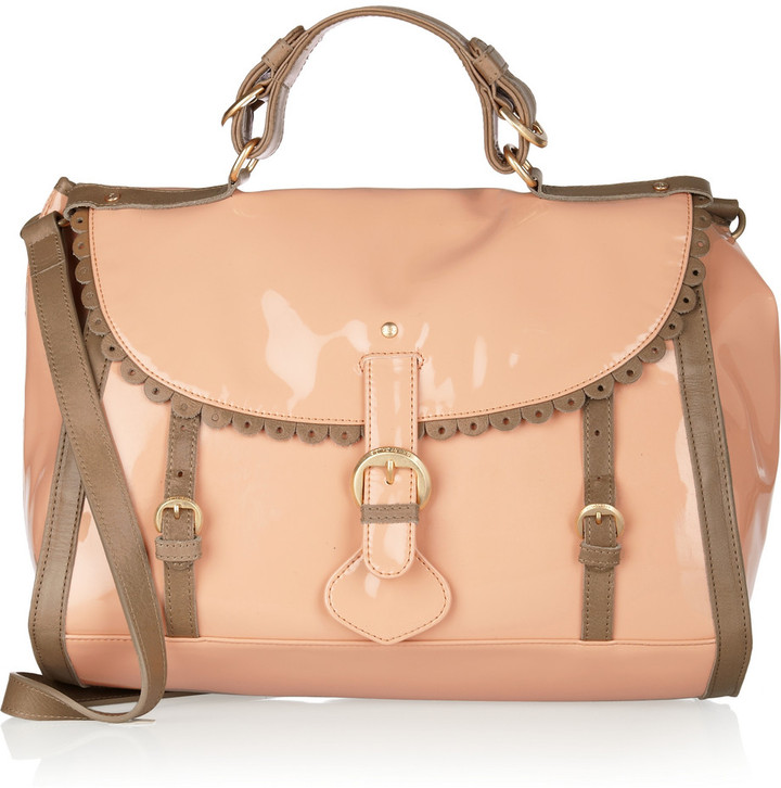 See by Chloé Patent-leather satchel