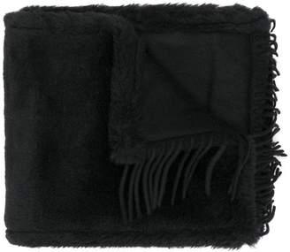 Max Mara fringed scarf