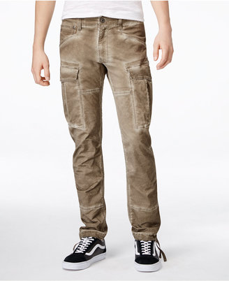 GStar Men's Rovic Slim-Fit Cargo Pants $180 thestylecure.com