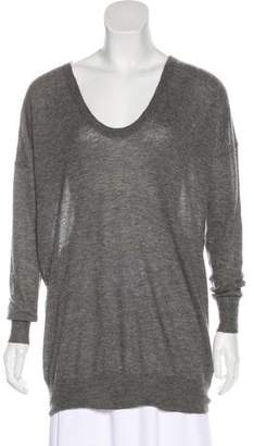 Joseph Cashmere Scoop Neck Sweater