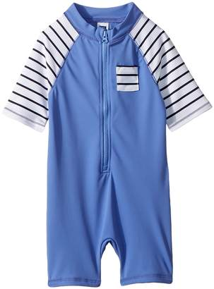 Janie and Jack One-Piece Rashguard Boy's Swimsuits One Piece