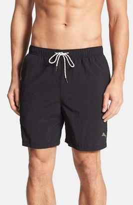 Men's Tommy Bahama 'The Naples Happy Go Cargo' Swim Trunks $65 thestylecure.com
