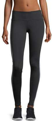 Spiritual Gangster Athletic Stripe Full-Stripe Performance Leggings