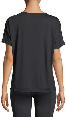 For Better Not Worse Short-Sleeve V-Neck Graphic Tee