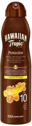 Hawaiian Tropic Protective Dry Oil Continuous Spray SPF 10 180ml