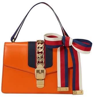 Gucci Sylvie GG Web shoulder bag