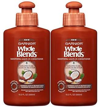 Garnier Hair Care Whole Blends Leave-In Conditioner With Coconut Oil & Cocoa Butter Extracts