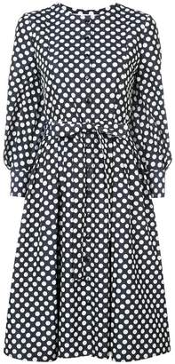 Carolina Herrera polka-dot flared midi dress
