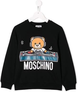 Moschino Kids TEEN dj bear T-shirt