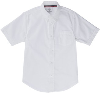 Boys 4-20 & Husky French Toast School Uniform Oxford Button-Down Dress Shirt